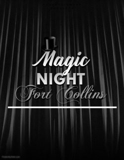 Copy of Magic Show Flyer Template with photos - Made with PosterMyWall